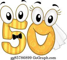 Golden Wedding Clip Art Royalty Free Gograph