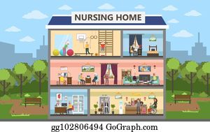 Nursing Home Clip Art Royalty Free Gograph