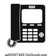 Simple Phone Icon Stock Illustrations - Royalty Free - GoGraph