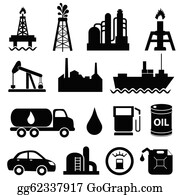 Oil And Gas Clip Art - Royalty Free - GoGraph