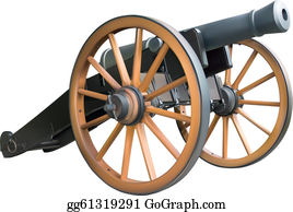 Cannon Clip Art - Royalty Free - GoGraph