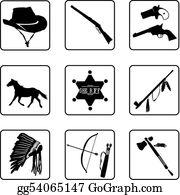 Wild West Clipart   Wild west, West art, Clip art