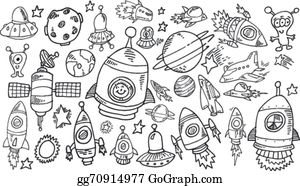 outer space clip art royalty free gograph