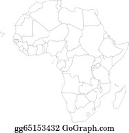 Africa Map Clip Art Royalty Free Gograph