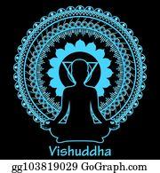 eps vector outline silhouette of meditating women on black background anahata chakra stock clipart illustration gg103825070 gograph eps vector outline silhouette of