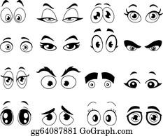Cartoon Eyes Clip Art Royalty Free Gograph