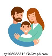 Father Son Cartoon Royalty Free Gograph
