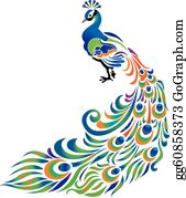 Perfect color combo | Clip art, Peacock drawing, Peacock images