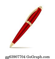 Pen Clip Art Royalty Free Gograph