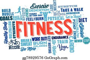 Physical Fitness Clip Art - Royalty Free - GoGraph