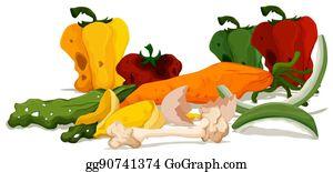 Rotten Fruit Clip Art - Royalty Free - GoGraph