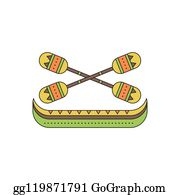 pirogue clipart - Royalty-Free Images | Graphics Factory