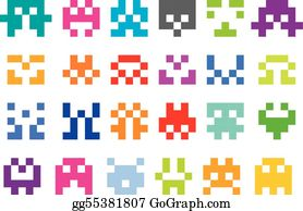 Pixel Clip Art Royalty Free Gograph