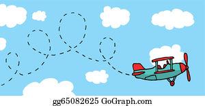 Cartoon Airplane Clip Art Royalty Free Gograph