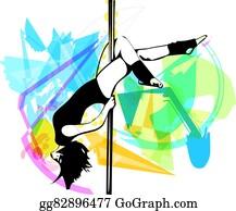 Pole Dancer Clip Art, HD Png Download , Transparent Png Image - PNGitem