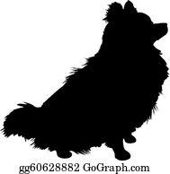 Pomeranian Clip Art Royalty Free Gograph