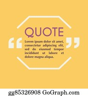 eps vector quote blank template design elements circle business