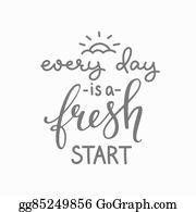 Fresh Start Clip Art Royalty Free Gograph