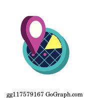 Radar Cartoon - Royalty Free - GoGraph
