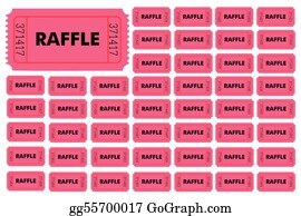images of tickets for a raffle