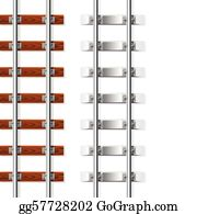 Railroad Ties Clip Art - Royalty Free - GoGraph