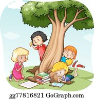 Reading And Writing Clipart - Kids Sharing Clipart, HD Png Download ,  Transparent Png Image - PNGitem