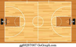 Basketball Court Clip Art Royalty Free Gograph
