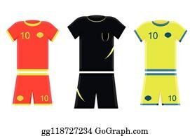Flat black and white referee shirt Royalty Free Vector Image