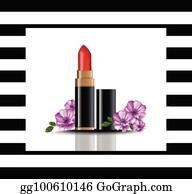 Lip Balm Tube Clip Art - Royalty Free - GoGraph
