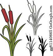 Cattails - Clipart Pond Reeds Transparent - Free Transparent PNG Download -  PNGkey