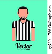Referee Uniform Royalty Free Cliparts, Vectors, And Stock Illustration.  Image 74165483.