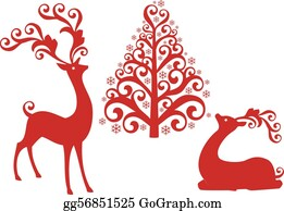 Christmas Pictures Clip Art.Reindeer Clip Art Royalty Free Gograph