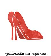 e21dfbf01c High Heel Shoes Clip Art - Royalty Free - GoGraph