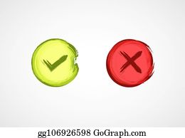 Right Wrong Clip Art - Royalty Free - GoGraph
