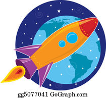 Drawing - Planet earth - europe  Clipart Drawing gg57223702 - GoGraph