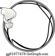 Calla Lily Border Frame Clip Art Royalty Free Gograph