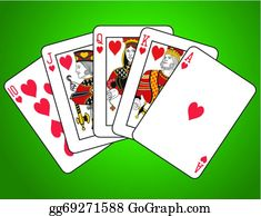 Royal Flush Clip Art Royalty Free Gograph