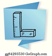 Clip Art Centimeter Ruler - Royalty Free - GoGraph