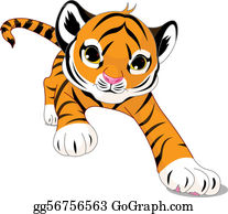 30097e07c Tigers Clip Art - Royalty Free - GoGraph