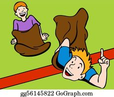 ᐈ Sledding cartoons stock cliparts, Royalty Free sack race pictures    download on Depositphotos®