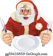 Christmas Dinner Clip Art Royalty Free Gograph