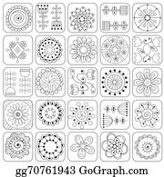 Zentangle Clip Art , Royalty Free , GoGraph