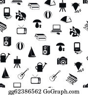 Collection of hobby icons Vector Image - 1753303 | StockUnlimited