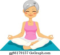 vector illustration  woman in cobra pose doing yoga on a