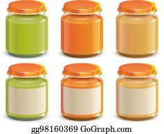 Baby Food Clip Art - Royalty Free - GoGraph