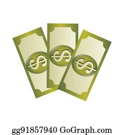 Dollar Sign Clip Art - Royalty Free - GoGraph