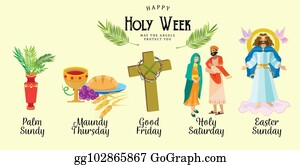 Holy Week Clip Art - Royalty Free - GoGraph