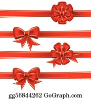 Christmas Bows Clip Art - Red Christmas Bow Clipart - Free Transparent PNG  Clipart Images Download