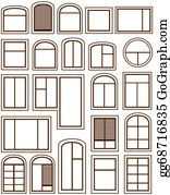 Windows Clip Art Royalty Free Gograph