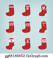 Christmas Stocking Clipart.Christmas Stockings Clip Art Royalty Free Gograph